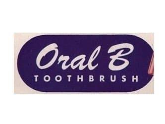 Oral B logo 1950