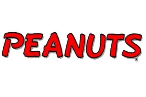 Peanuts logo 1952