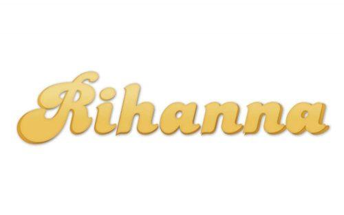 Rihanna Logo 2005