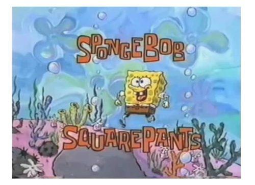 SpongeBob SquarePants logo 1997