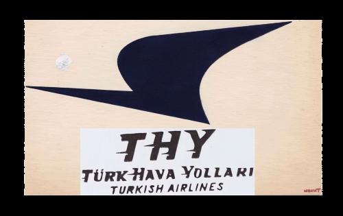 Turkish Airlines logo 1956