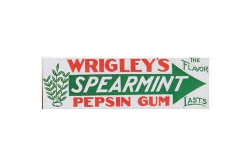 Wrigleys logo 1913