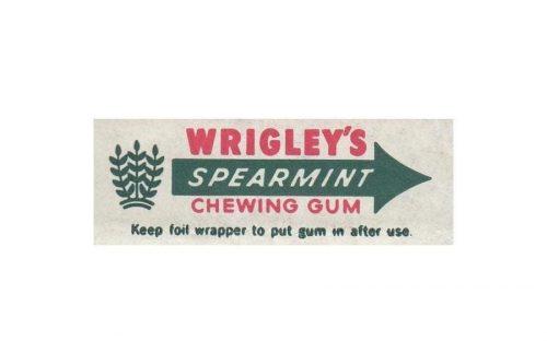 Wrigleys logo 1932