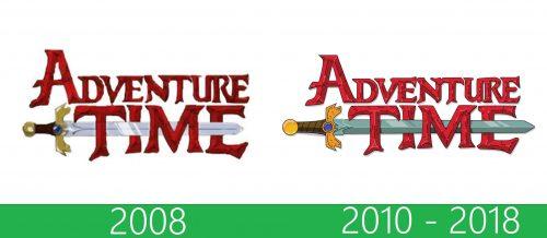 storia Adventure Time Logo