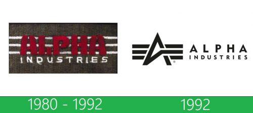 storia Alpha Industries Logo