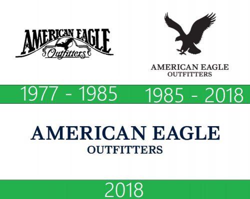 storia American Eagle logo