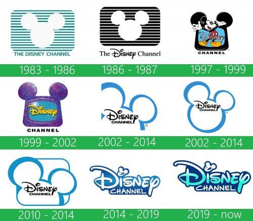 storia Disney Channel logo