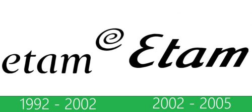 Etam logo storia