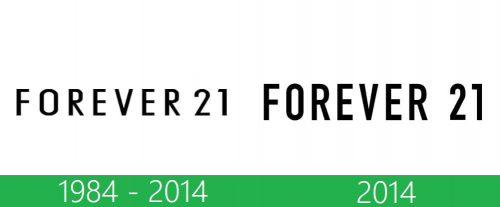 storia Forever 21 logo