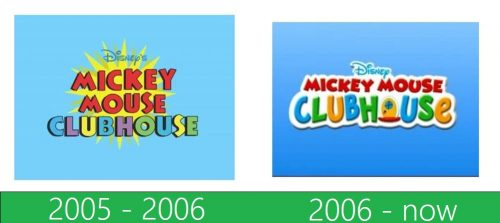 storia Mickey Mouse Clubhouse logo