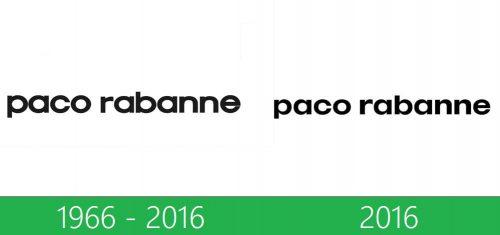 storia Paco Rabanne logo