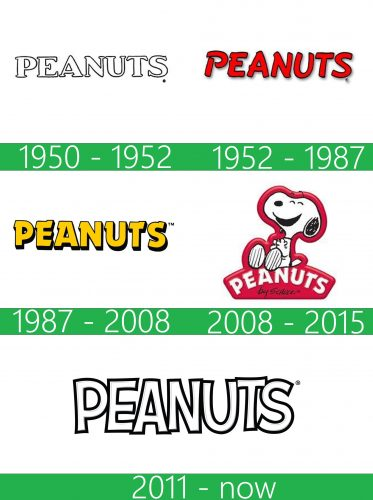 storia Peanuts logo