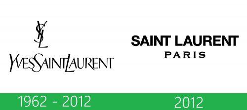 storia Saint Laurent logo