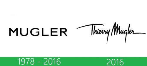 storia Thierry Mugler logo