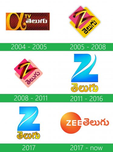 storia Zee Telugu logo