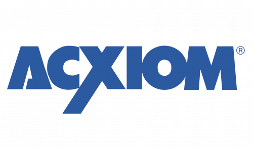 Acxiom logo 1988