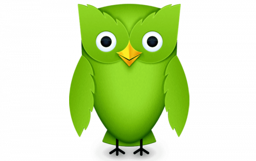 Duolingo logo 2012