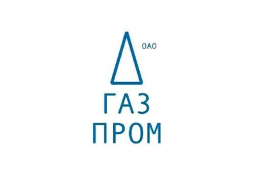 Gazprom logo 2001