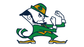 Notre Dame Leprechaun Logo tumb