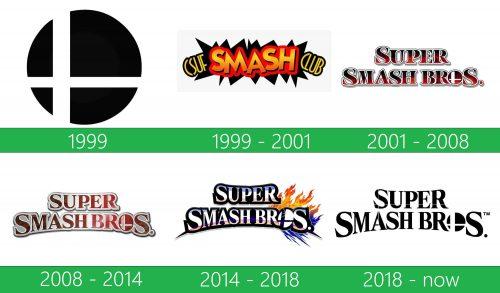 storia Super Smash Bros Logo